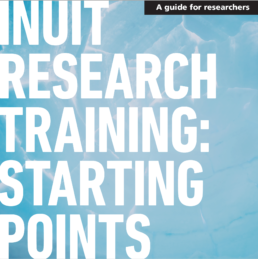 Inuit Research Training: Starting Points